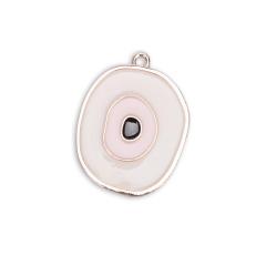 Μάτι ροζ χρυσό επισμαλτωμένο ροζ 4x3εκ