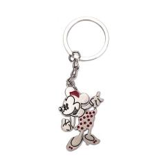 Μεταλλικό μπρελόκ Minnie Mouse 4εκ