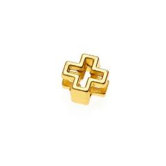 Σταυρός μεταλλικός χρυσός 1x1εκ 50τεμ