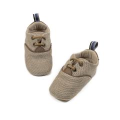Δερμάτινο δετό sneaker αγκαλιάς Babywalker