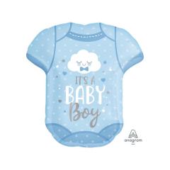 Μπαλόνι foil Φορμάκι Baby Boy 60cm