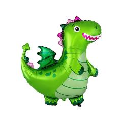 Μπαλόνι Φοιλ Dragon Green 92x92εκ