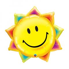 Μπαλόνια φόιλ χαρούμενος ήλιος 89εκ