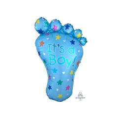 Μπαλόνι γέννησης Πατούσα Its a Boy 81εκ