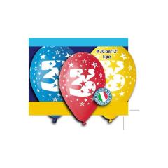 Μπαλόνι γενέθλια Νο 3 (5 τεμ)