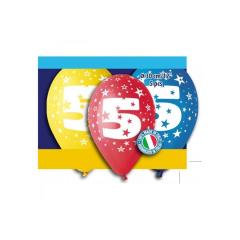 Μπαλόνι γενέθλια Νο 5 (5τεμ)