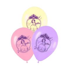 Μπαλόνι τυπωμένο Πριγκίπισσα Σοφία (5τμχ)