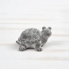 Μπομπονιέρα βάπτισης τσιμεντένιο διακοσμητικό χελωνίτσα