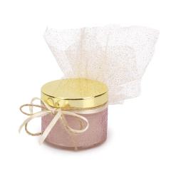 Μπομπονιέρα βάπτισης αρωματικό κερί Cherry