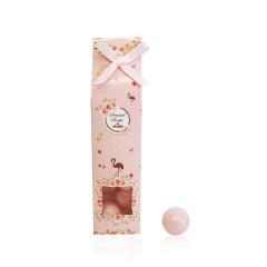 Μπομπονιέρα βάπτισης σαπουνάκια ροζ με φλαμίνγκο
