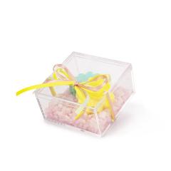 Μπομπονιέρα βάπτισης κουτάκι με σαπουνάκια