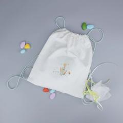 Μπομπονιέρα βάπτισης υφασμάτινη τσάντα Μικρός Πρίγκιπας