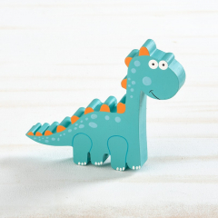 Μπομπονιέρα βάπτισης ξύλινο διακοσμητικό δεινόσαυρος