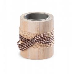 Μπομπονιέρα βάπτισης ξύλινο διακοσμητικό για ρεσώ