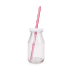 Μπουκάλι γυάλινο γάλακτος 6x12εκ 200ml