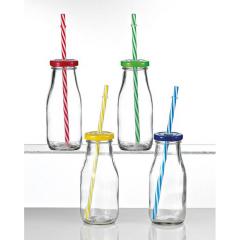Μπουκάλι γυάλινο μακρόστενο 6x15 4τεμ