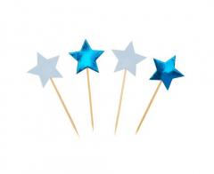Διακοσμητικές οδοντογλυφίδες Little Star Blue 20τεμ.