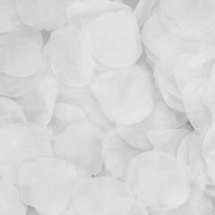 Ροδοπέταλα συνθετικά λευκά