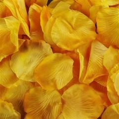 Ροδοπέταλα συνθετικά πορτοκαλί
