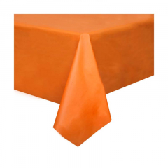 Πλαστικό τραπεζομάντηλο πορτοκαλί