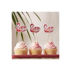 Οδοντογλυφίδες Flamingo 8 τεμ