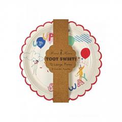 Πιάτο φαγητού Up in the air Toot Sweet