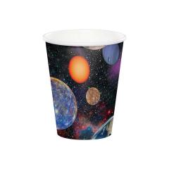 Χάρτινα ποτήρια Space Blast 266ml