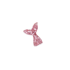 Ουρά γοργόνας ακριλική ροζ 25x20mm 10τεμ