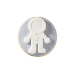Μπισκότο ζαχαρόπαστας σε σχήμα αστροναύτης