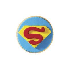 Μπισκότο ζαχαρόπαστας σε σχήμα superman