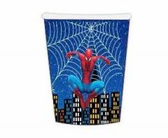 Ποτήρια χάρτινα 260ml Spider-Man 6τεμ.