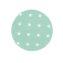 Πανάκι βαμβακερό βεραμάν με αστέρια 12εκ 25τεμ
