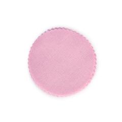 Πανάκι βαμβακερό ροζ 9-10εκ 25τεμ