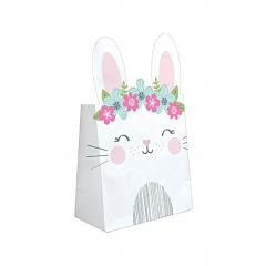 Χάρτινες σακούλες δώρου Birthday Bunny 8τεμ