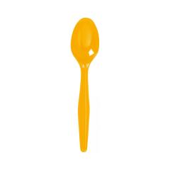Πλαστικά κουτάλια κίτρινα 8τεμ