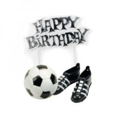 Διακοσμητικό τούρτας μπάλα και παπούτσια ποδοσφαίρου