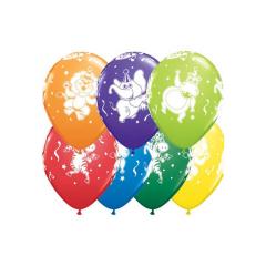 Μπαλόνια θέμα party animal 28εκ 25τμχ