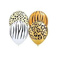 Μπαλόνια θέμα σαφάρι 28εκ 25τμχ