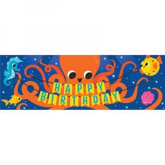 Banner με θεμα Ocean Celebration 152x50