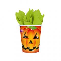 Χάρτινα ποτήρια Perfect Pumpkin 8τεμ