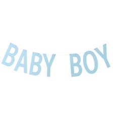 Γιρλάντα Γράμματα Baby Boy Σιέλ