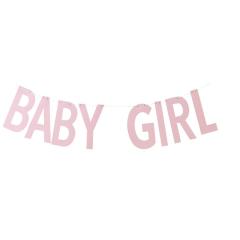 Γιρλάντα Γράμματα Baby Girl Pink