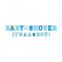 Γιρλάντα Baby Shower Its a Boy!
