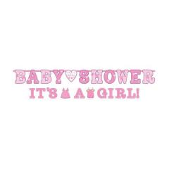 Γιρλάντα Baby Shower Its a Girl!