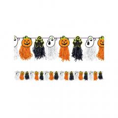 Χάρτινη γιρλάντα Halloween Friendly Mummy 240x24εκ