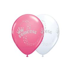 Μπαλόνια λάτεξ Glitter Princess 28εκ