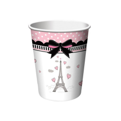 Χάρτινα ποτήρια Party in Paris 8τεμ