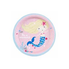 Χάρτινα πιάτα γλυκού Be A Mermaid 8τεμ