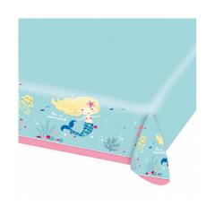 Χάρτινο τραπεζομάντηλο Be A Mermaid 180x120εκ