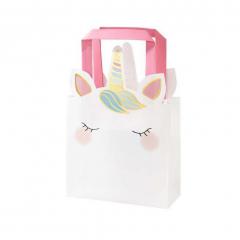 Τσάντες δώρου We Love Unicorn 6τεμ